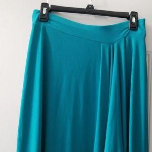 Michael Kors high low mid skirt